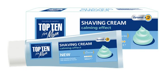 top ten shaving cream sensitive skin